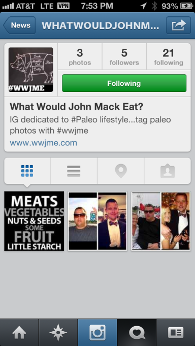 Follow WWJME on Instagram!