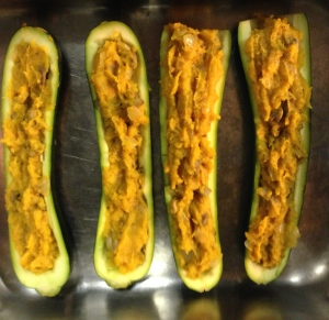 zucchinis filled