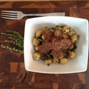 All Plated and served with Italian sausage